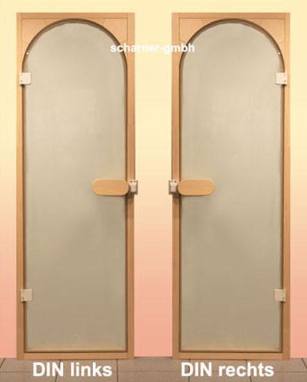 ganzglast r rundbogen t r din rechts sauna saunat r ebay. Black Bedroom Furniture Sets. Home Design Ideas