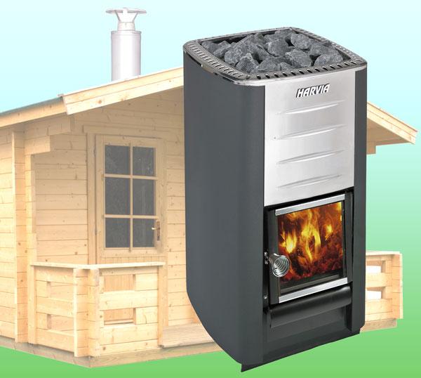 holzofen saunaofen holz heizger t harvia m3 sauna 13cbm ebay. Black Bedroom Furniture Sets. Home Design Ideas